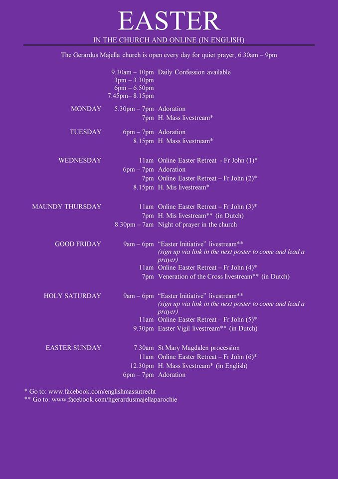 easter-schedule